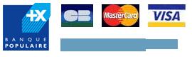Paiment cartes bancaires avec Cyberplus Banque Populaire