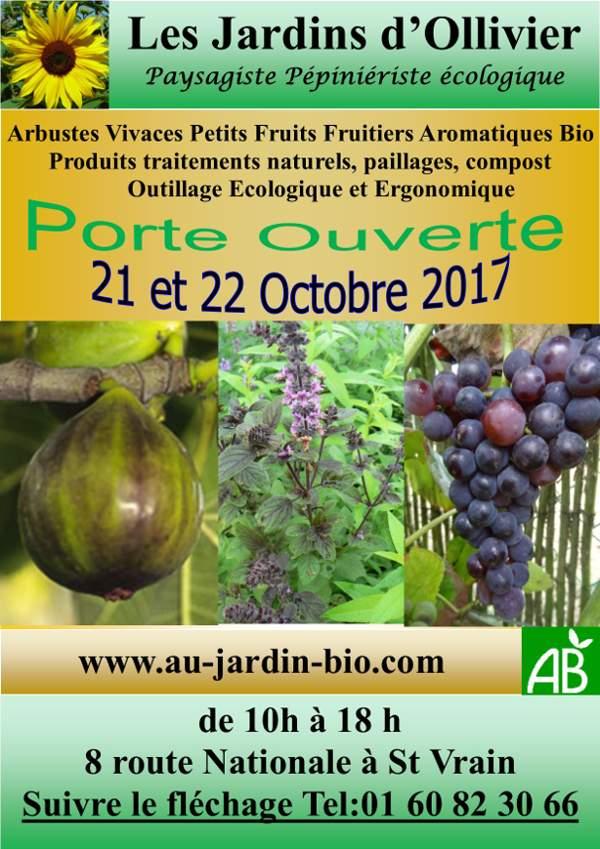 Les Jardins d'Ollivier - Portes ouvertes d'octobre 2017