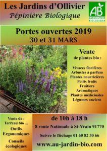 Production biologique de plantes nourrivières