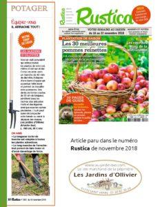 arrache-tout : article paru dans le magazine Rustica
