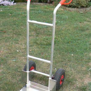 chariot pour desherbeur thermique prof