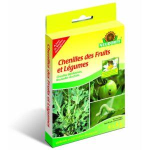 Chenilles fruits et légumes Bacillus 4x2,5g