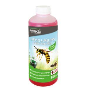 le produits a utiliser avec le piège a guépes qui ne piège pas les abeilles très important